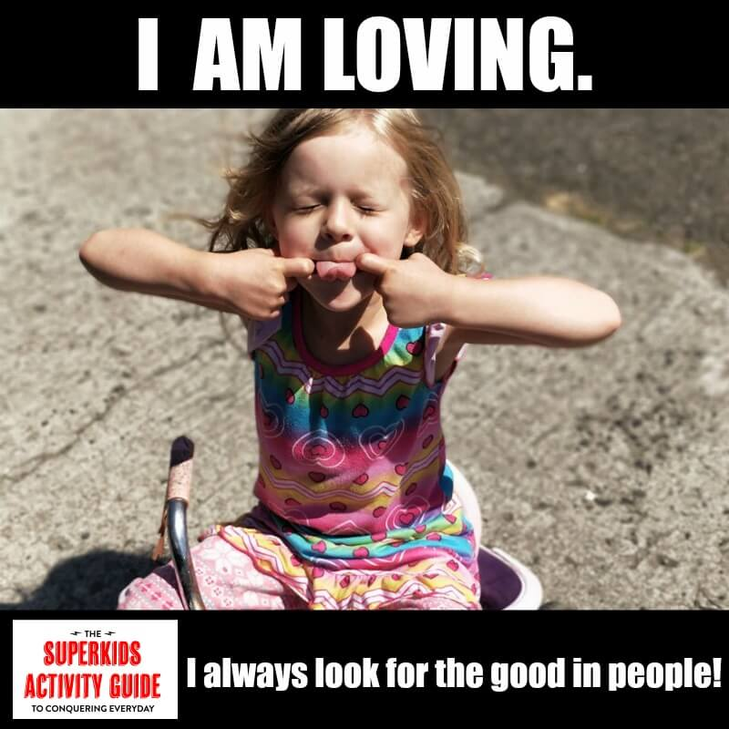 Becky - I am loving. I always look for the good in people