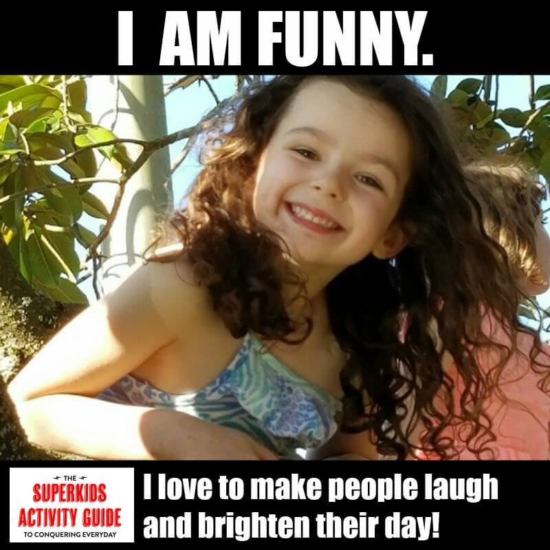 Dawn - I am FUNNY! I love to make people laugh and brighten their day