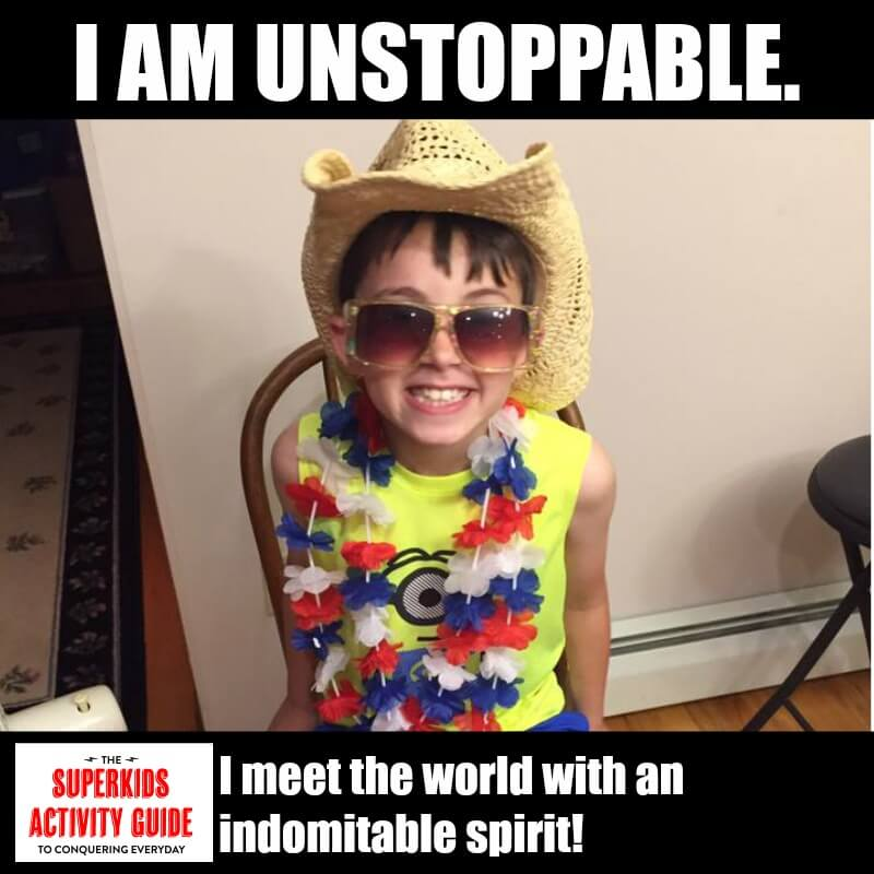 Emily - I am Unstoppable. I meet the world with an indomitable spirit