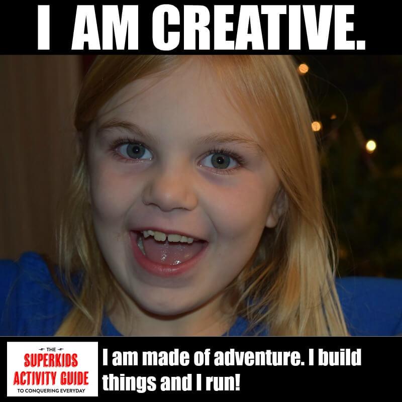 JV - I am Creative. I am made of adventure. I build things and I run
