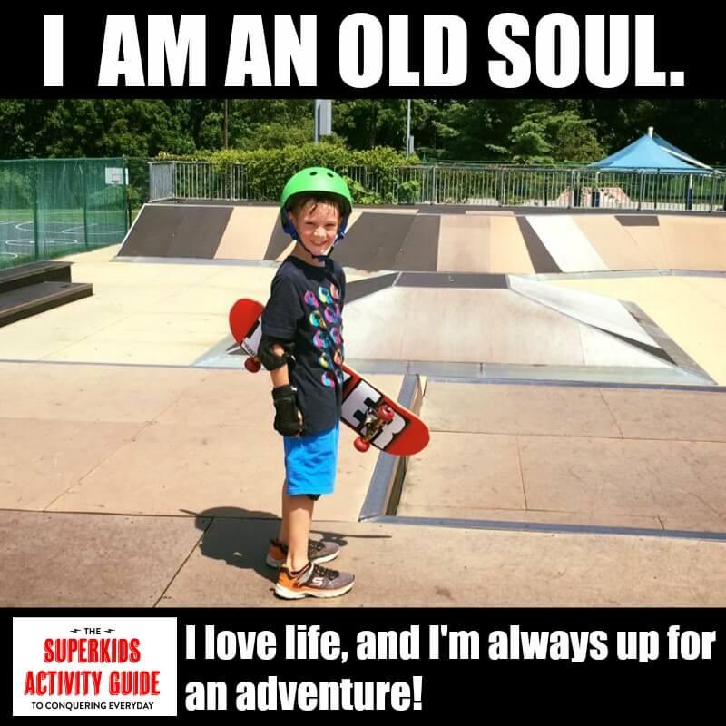Jennifer - I am an old soul. I love like and I'm always up for an adventure
