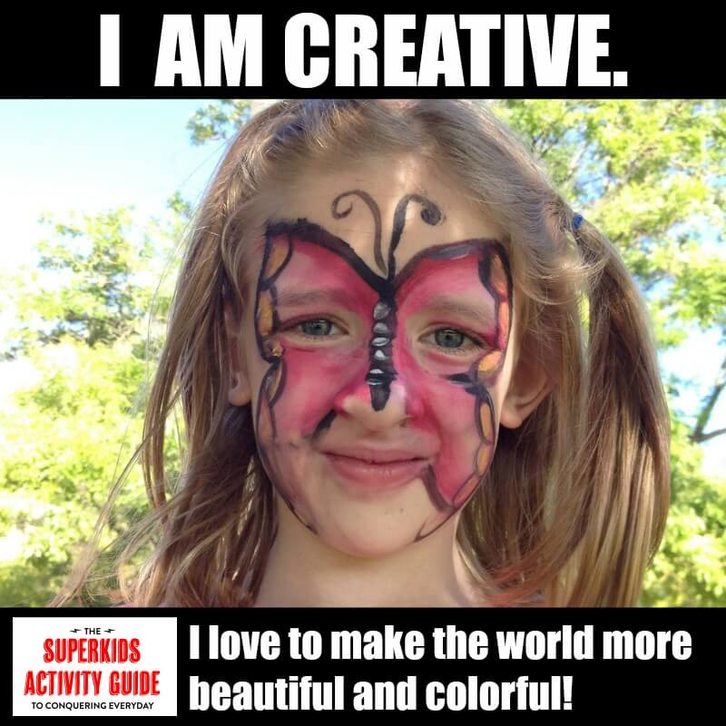 Karyn - I am creative. I love to make the world more beautiful and colorful