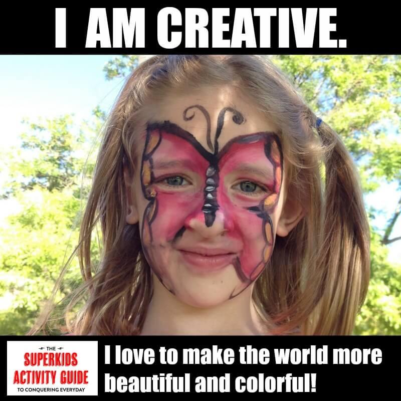 Karyn - I am creative. I love to make the world more beautiful and colorful