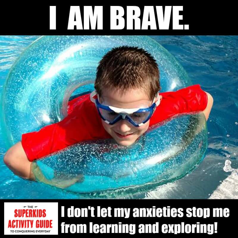 Lindsay - I am BRAVE. I don't let my anxieties stop me from learning and exploring.