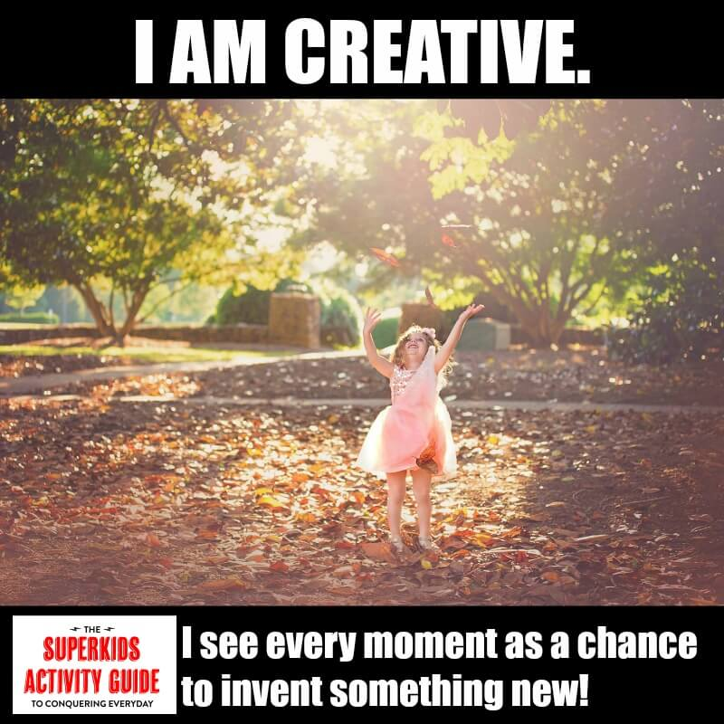 Natasha - I am Creative. I see every moment as a chance to invent something new