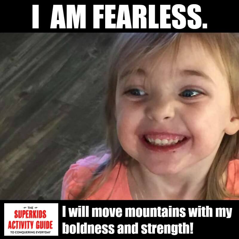 Victoria - I am fearless. I will move mountains with thy boldness and strength