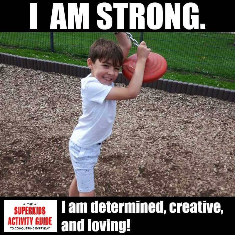 Zoe - I am strong. I am determined, creative, and loving