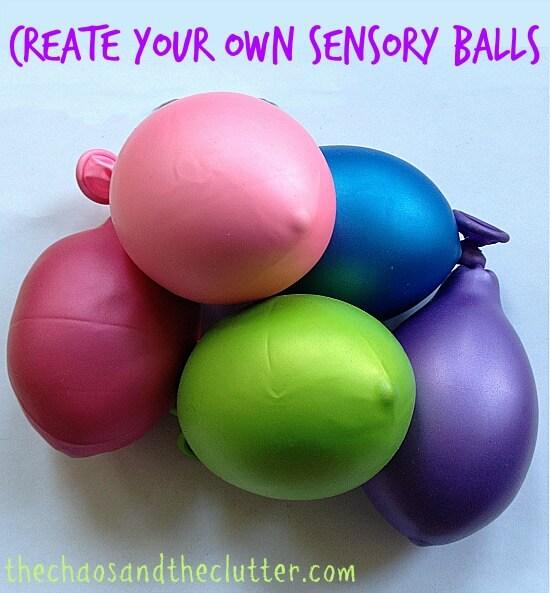 Create Your Own Sensory Balls