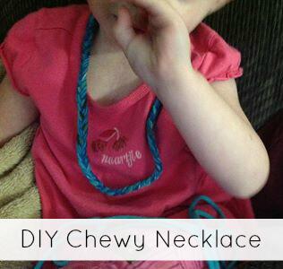 DIY Chewable Jewelry