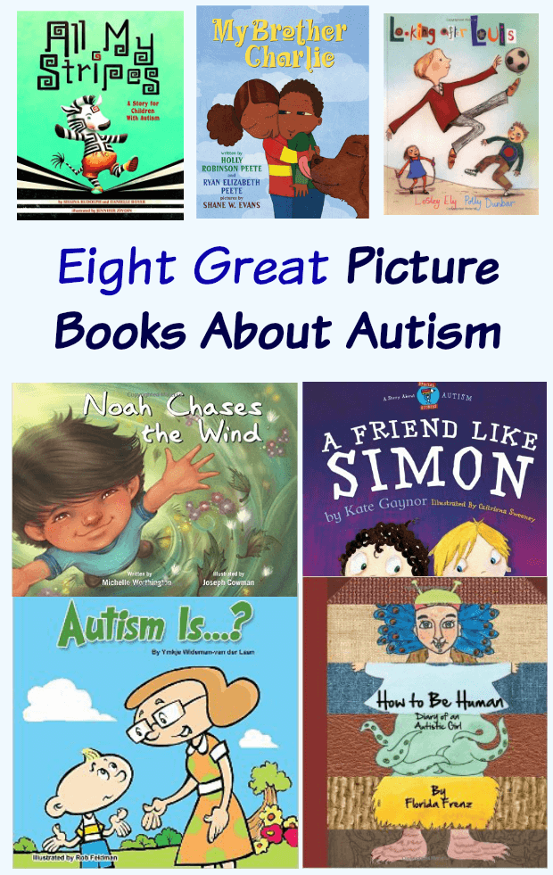 Eight Great Pictures Books about Autism