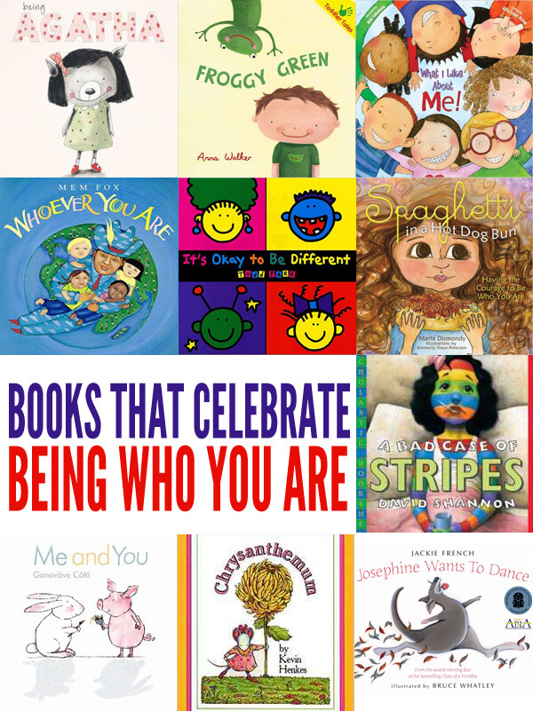 Picture Books Celebrating Being Who You Are: Individuality & Diversity