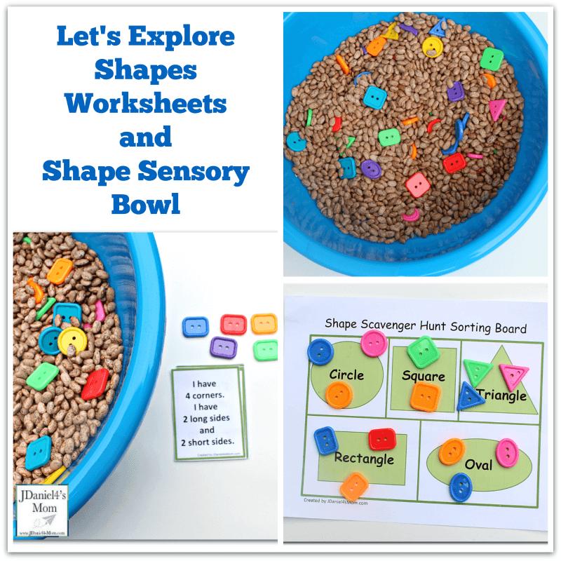 Shapes Sensory Bowl