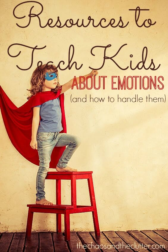 Resources to Teach Kids About Emotions and How to Manage Them