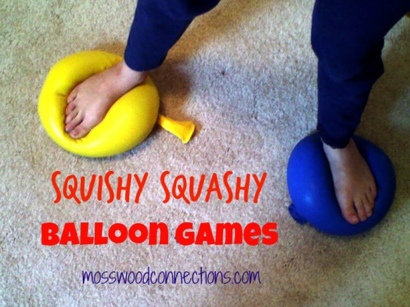 Sensory Balloon Games
