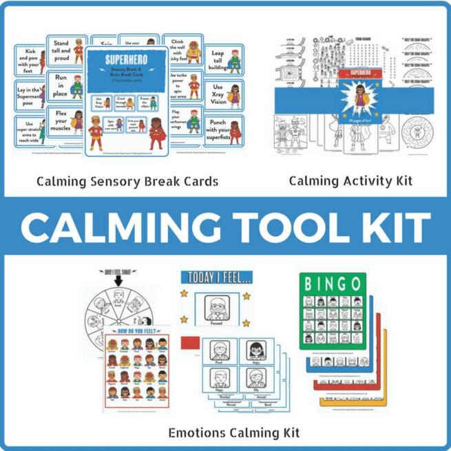 The Complete Superhero Calming Tool Kit