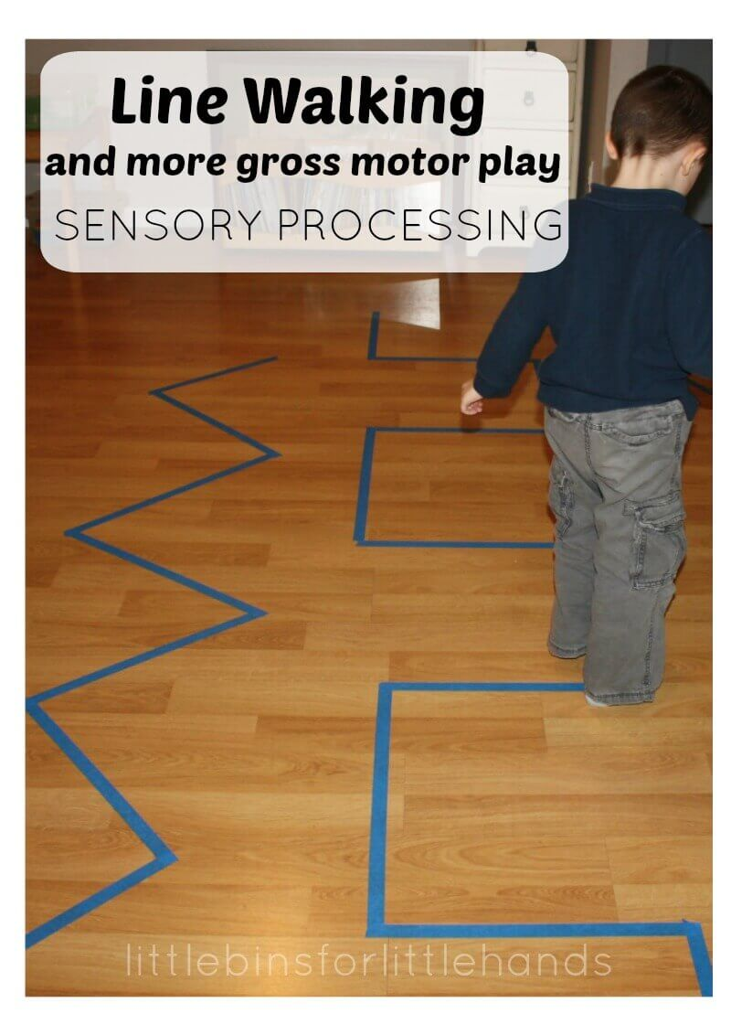 Gross Motor Play Ideas