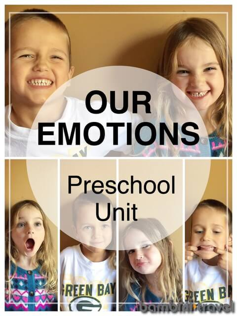 Playful Activities for Exploring Big Preschool Emotions