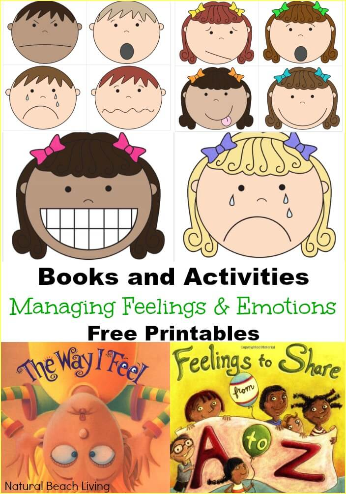 Managing Feelings and Emotions Free Printables
