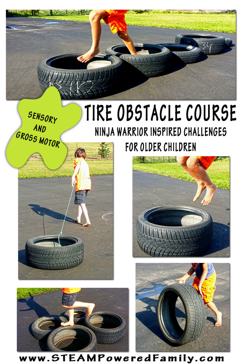 Tire Obstacle Course
