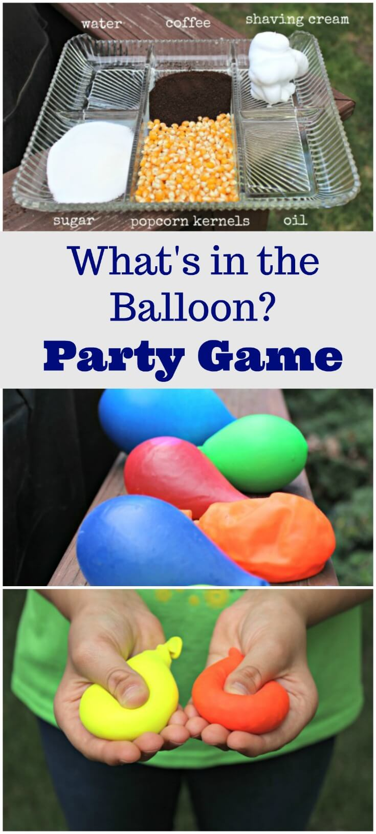 Party Game with Balloons